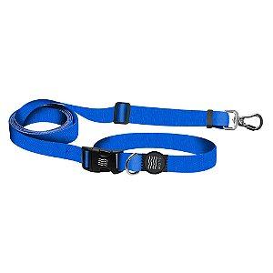 Guia Premium Fit Running Classic Blue Borracha Preta
