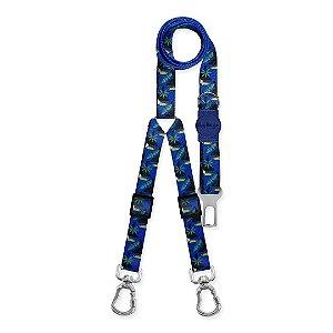 Cinto de Segurança Duplo Tucano Azul