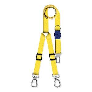 Cinto de Segurança Duplo Classic Yellow