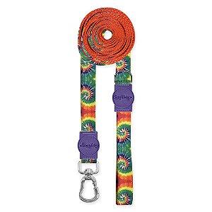 Guia Ultra Longa Peace Tie Dye