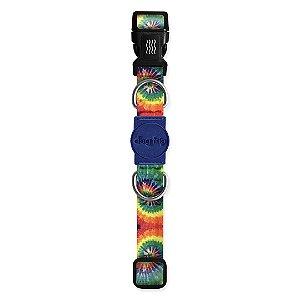 Coleira Premium Peace Tie Dye