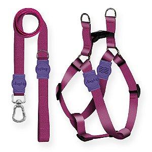 Kit Guia Premium + Peitoral Americano Classic Purple