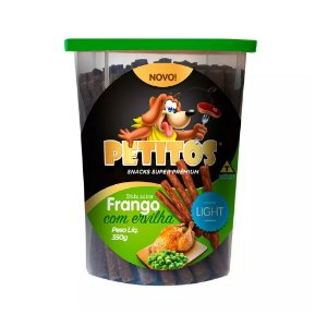 Stick Light Frango com Ervilha 350G