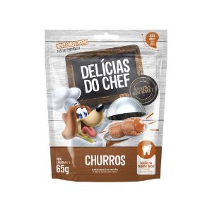 Petisco Snack Delicias do Chef Mini Churros 65G