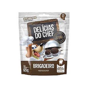 Petisco Snack Delicias do Chef Brigadeiro 65G