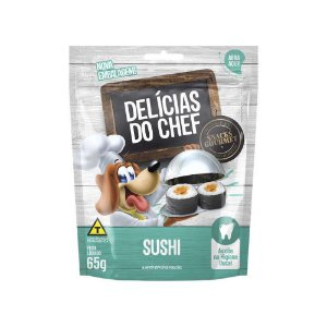 Petisco Snack Delicias do Chef Sushi 65G