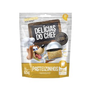 Petisco Snack Delicias do Chef Pasteizinhos 65G