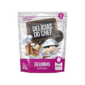 Petisco Snack Delicias do Chef Beijinho 65G