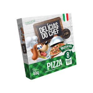 Petisco Snack Delicias do Chef Pizza de Calabresa 40G