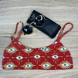 Top basic Amuleto Vermelho