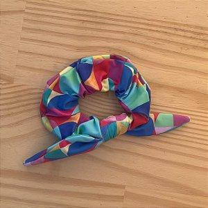Scrunchie Geométrico Colorido