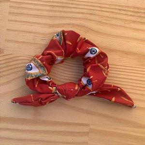 Scrunchie Amuleto Vermelho