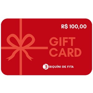 Gift Card R$ 100,00
