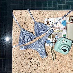 Cortininha móvel + calcinha fio normal Maré Éden