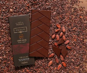 Tablete chocolate amargo 70 %