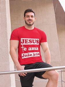 Camiseta Masculina João 3.16