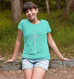 Camiseta Infantil Fé