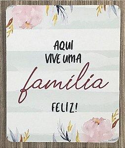 Quadro Decorativo Família Feliz