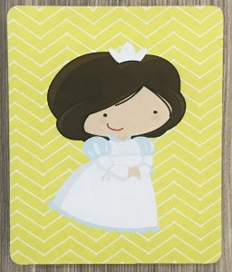 Quadro Decorativo Princesa