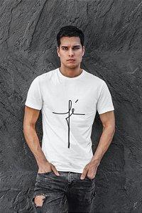 Camiseta Branca Fé