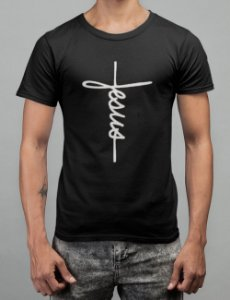 Camiseta Preta Jesus