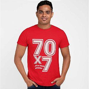 Camiseta Vermelha 70x7