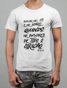 Camiseta Branca Jeremias 29:13