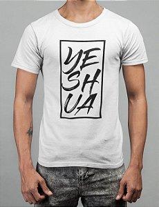 Camiseta Branca Yeshua Quadro