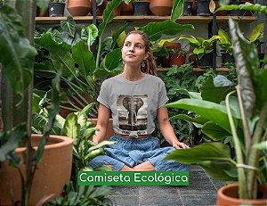 Camiseta Ecológica Cinza Vanity - UNISSEX