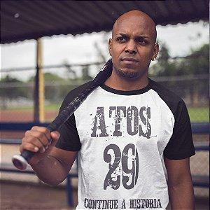 Camiseta Raglan Atos 29 - Unissex
