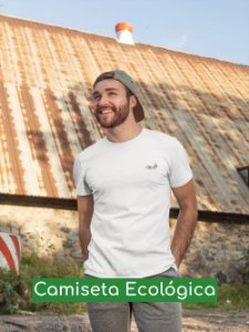 Camiseta Ecológica Branca Grilo - UNISSEX