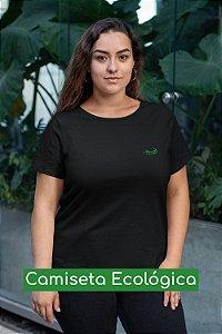 Camiseta Ecológica Preta Grilo - UNISSEX