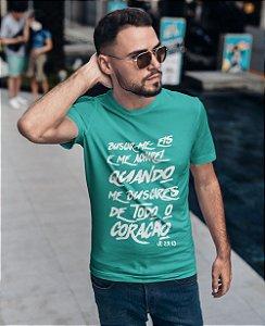 Camiseta Turquesa Jeremias 29:23