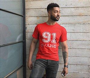 Camiseta Vermelha Salmos 91