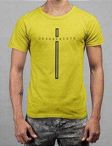 Camiseta Amarela Jesus Cristo