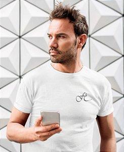 Camiseta Branca Fé - Peito