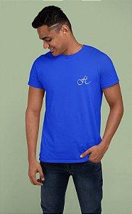 Camiseta Azul Fé - Peito