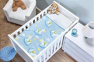 Cobertor Carrosel Bonno Baby - 0,90m x 1,10m - Etruria - Ref.:7892