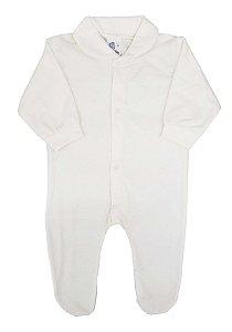 Macacão liso de Malha para Verão - Tam. Único - 100% algodão - Carolina Baby - Ref.:09969