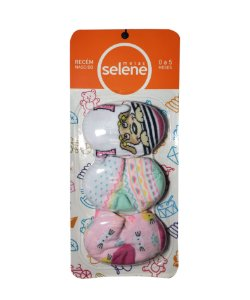 Meia Selene - Pacote com 3 unid. - Menina - Ref.: 1030001