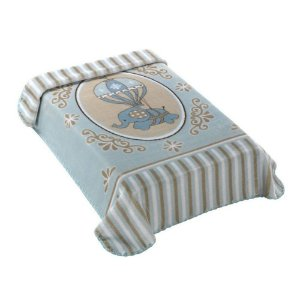 Cobertor Elefantinho Azul Colibri - Ref.: 47654