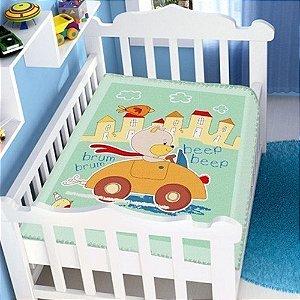Cobertor Infantil Jolitex Raschel - 90 cm x 1,10 m  - Ref.: 62006