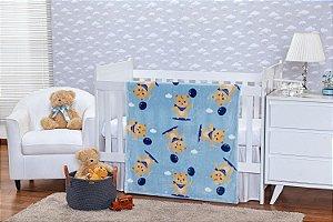 Cobertor toque de Seda - Teddy - 0,90 m X 1,10 m - Etruria - REF.: 1960