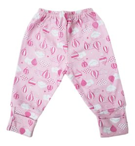 Mijão pé reversível rosa - Estampas Variadas - Mafessoni - Ref.: 301122