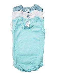 Pacote Body Regata 03 pçs - Carolina Baby - Ref.: 09417