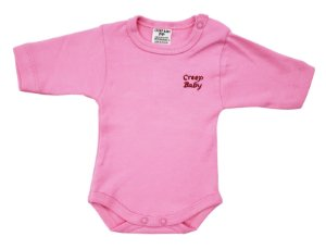 Body prematuro rosa - PP - Ref.: 39545
