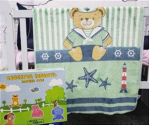 Cobertor Infantil Raschel Plus - Jolittex Tornille - 90cm X 1,10m
