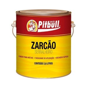 Zarcão Pitbull Oxido Acastanhado 3,6L