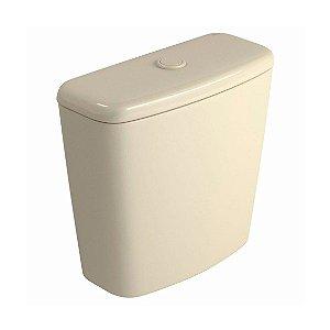 Caixa Acoplada Deca Izy Creme de 6 Litros com Acionamento Simples