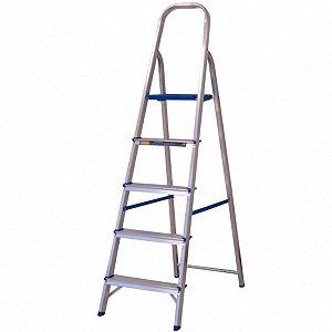 Escada Multiuso Alumasa 5 Degraus de Alumínio